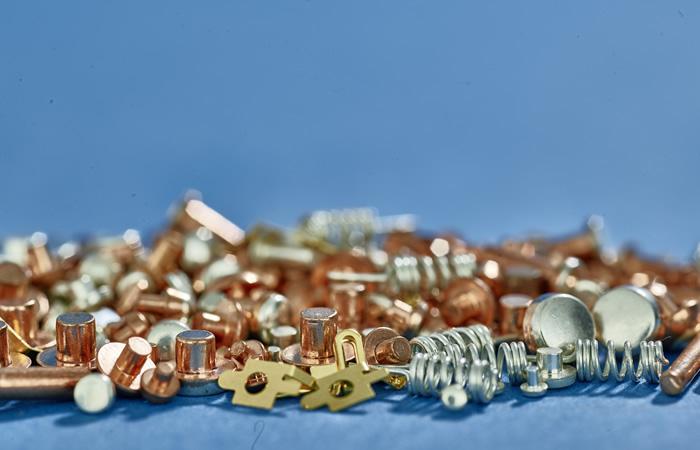 Metallstanzteile